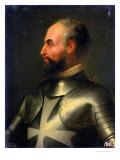 Jean de La Valette Grand Master of the Knights of the Order of Malta Giclee Print by Francois Xavier Dupre