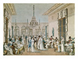 The Cafe Frascati in 1807 Giclee Print by Philibert-Louis Debucourt