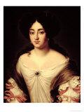 Portrait of a Lady, Said to be Marie-Anne Mancini Giclée-Druck von Jacob Ferdinand Voet