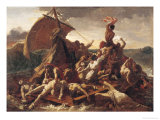 Study for the Raft of the Medusa, 1819 Premium Giclee Print by Théodore Géricault
