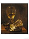 Still Life with a Goblet, 1653 Giclee Print by Willem Claesz. Heda
