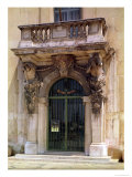 View of the Museum Entrance with Atlantes Supporting the Balcony Giclee Print by Pierre Puget