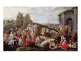 The Slaves and the Furies of Love Giclee Print by Frans Francken the Younger