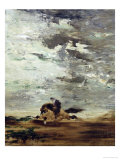 Horseman Giclee Print by Gustave Moreau