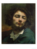 Self Portrait Or, the Man with a Pipe, circa 1846 Giclee Print by Gustave Courbet