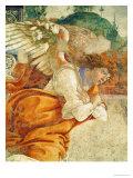 The Annunciation, Detail of the Archangel Gabriel, from San Martino Della Scala, 1481 Giclée-Druck von Sandro Botticelli