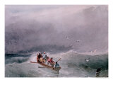 Seascape Giclee Print by Richard Parkes Bonington