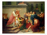 Joseph Recognised by His Brothers Giclee Print by Francois Pascal Simon Baron Gerard