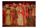 People of the Court of the Sforza Family Giclee Print by Bonifacio Bembo