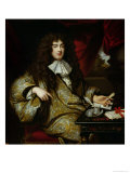 Jean-Baptiste Colbert Marquis de Seignelay, 1676 Giclee Print by Marc Nattier