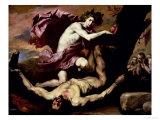 Apollo and Marsyas Giclée-tryk af Jusepe de Ribera
