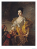 Anne-Marie de Bosmelet, Duchess of La Force, 1714 Giclee Print by Francois de Troy