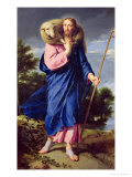 The Good Shepherd, circa 1650-60 Giclee Print by Philippe De Champaigne