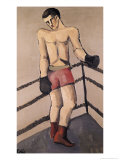 The Large Boxer Giclee Print by Helmut Von Hugel Kolle