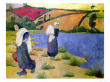 Washerwomen at the Laita River, Near Pouldu, 1892 Giclee Print by Paul Serusier