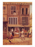 Corner of a Town with a Bakery Giclée-Druck von Jacobus Vrel
