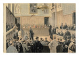 "The Panama Trial, from ""Le Petit Journal"", 2nd January 1898 Giclee Print by Oswaldo Tofani"