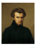Portrait of Ambroise Thomas 1834 Giclee Print by Hippolyte Flandrin