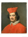 Portrait of Cardinal Camillo Astali Pamphili, 1650 Giclee Print by Diego Velázquez