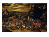 The Crucifixion Lámina giclée por Pieter Brueghel the Younger