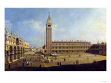 Piazza San Marco, Venice Giclee Print by  Canaletto