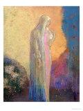 Standing Veiled Woman Giclee Print by Odilon Redon