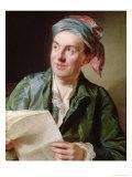 Portrait of Jean-Francois Marmontel 1767 Giclee Print by Alexander Roslin