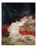Sarah Bernhardt 1876 Giclee Print by Georges Clairin