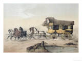 The Stage Coach Giclee Print by Victor Jean Adam