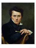 Self Portrait, circa 1818 Giclee Print by Claude-Marie Dubufe