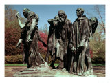 The Burghers of Calais Giclee Print by Auguste Rodin