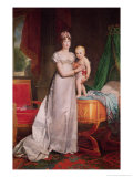 Marie Louise and the King of Rome Giclee Print by Francois Pascal Simon Baron Gerard