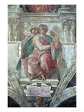 Sistine Chapel Ceiling: the Prophet Isaiah Giclee Print by Michelangelo Buonarroti 