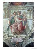 Sistine Chapel Ceiling: the Prophet Isaiah Giclee Print by  Michelangelo Buonarroti