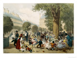 The Tuileries, 1856 Giclee Print by Eugene Von Guerard