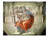 Sistine Chapel Ceiling: Delphic Sibyl Giclee Print by  Michelangelo Buonarroti