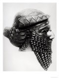 Head of Sargon I 2400-2200 BC Giclee Print by  Mesopotamian