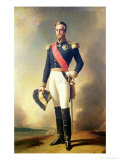 Portrait of Henri-Eugene-Philippe-Louis D'Orleans Duke of Aumale, 1846 Giclee Print by Franz Xavier Winterhalter