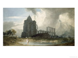 Croyland Abbey Giclee Print by John Sell Cotman
