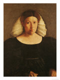 Portrait of a Woman with a White Hairnet Giclée-tryk af Dosso Dossi