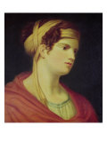 Countess Therese Brunswick Giclee Print by Johann Baptist Lampi