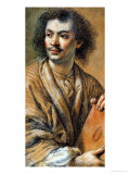 Portrait of Moliere Giclee Print by Claude Lefebvre