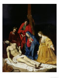 The Descent from the Cross Giclee Print by Nicolas Tournier