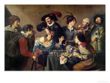 The Tooth Extractor Giclee Print by Theodor Rombouts