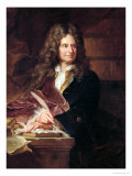Nicolas Boileau after 1704 Giclee Print by Hyacinthe Rigaud