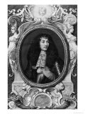 Medallion Portrait of Louis XIV Giclee Print by Nicolas Robert