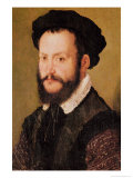 Portrait of a Man with Brown Hair, circa 1560 Giclee Print by Claude Corneille de Lyon