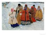 A Family, 1909 Giclee Print by Sergej Vasilevic Ivanov