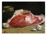 Still Life, the Joint of Meat, 1864 Premium Giclee Print by Claude Monet