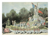Chariot of the Triumph of the Republic at the National Festival Giclee Print by Henri Meyer